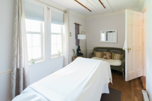 Radiant Heart Wellness Studio Massage Table